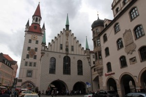 The Old Town Hall of Munich.