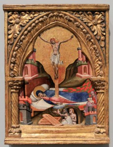 'Dream of the Virgin' by Simone dei Crocefissi (ca. 1365-80 AD).