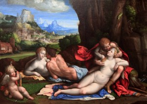 'An Allegory of Love' by Garofalo (ca. 1527-1539 AD).
