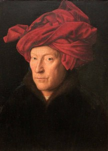 'Portrait of a Man' by Jan van Eyck (1433 AD).