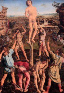 'The Martyrdom of Saint Sebastian' by Antonio and Piero del Pollaiuolo (1475 AD).