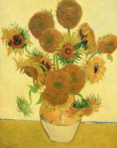 'Sunflowers' by Vincent van Gogh (1888 AD).