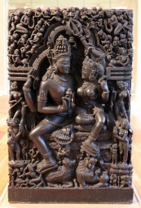 Shiva and Pavarti; from Orissa, India (12th or 13th-century AD).