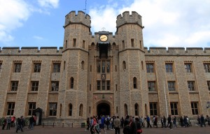 The Waterloo Block, where the Crown Jewels are kept.
