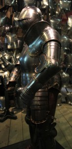 Another example of Henry VIII's armor; this one is dated to 1540 AD.