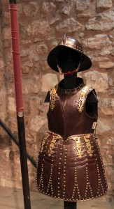 Pikeman's armor, from around 1625 AD.