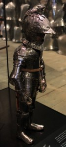 A boy's armor (possibly for the future King Charles I when he was five years old (ca. 1610 AD).