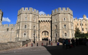 The Henry VIII Gateway at Windsor Castle.