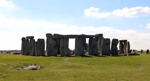 One last view of Stonehenge, a site whose function still remains a mystery.