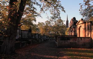 Tombs in Greyfriars Kirkyard.