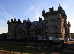 George Heriot's School, an independent primary and secondary school that was established in 1628 AD; this is also supposedly the inspiration for Hogwarts in the Harry Potter books.