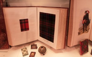 'Highland Society of London, Volume I' - a ledger of tartan samples that includes swatches collected between 1815-1820 AD (made in the 1930s AD).