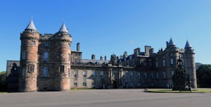 "The Palace of Holyroodhouse (commonly referred to as ""Holyrood Palace""); this is the official residence of the British monarch in Scotland."