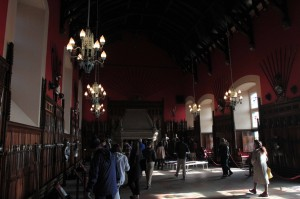 The Great Hall, which was the chief place of state assembly in the castle.