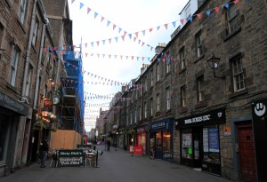 Rose Street in Edinburgh.