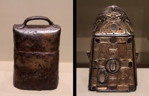 St. Patrick's Bell and Shrine (6th- to 8th-century AD, and 1100 AD).