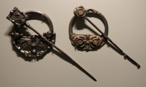 Two silver annular brooches (8th/9th-century AD).