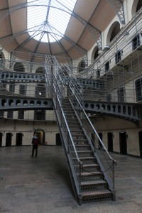 "The East Wing (or ""Victorian Wing"") inside the gaol."