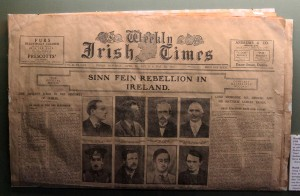The Weekly Irish Times, 29 April - 6 May 1916, covering the events of the 1916 Easter Rising.