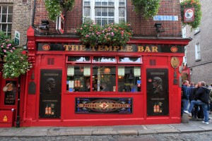 The Temple Bar pub in Dublin.
