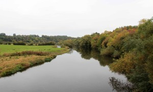 The Boyne River.