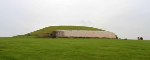 Another view of the Newgrange Neolithic site.