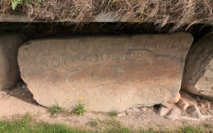 One last example of megalithic art at Knowth.
