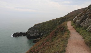 Further along the Howth coastal trail.