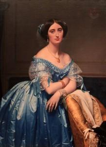 'Joséphine-Éléonore-Marie-Pauline de Galard de Brassac de Béarn, Princesse de Broglie' by Jean Auguste Dominique Ingres (1851/53 AD).