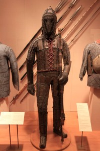 Armor from the Indian Kingdom of Sind (18th or 19th-century AD).