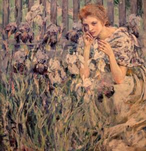 'Fleur de Lis' by Robert Reid (ca. 1895-1900 AD).