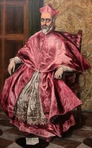 'Cardinal Fernando Niño de Guevara' by El Greco (1601-1604 AD).