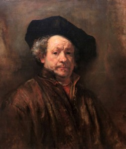 'Self-Portrait' by Rembrandt (1660 AD).