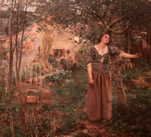 'Joan of Arc' by Jules Bastien-Lepage (1879 AD).