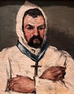 'Antoine Dominique Sauveur Aubert (born 1817), the Artist's Uncle, as a Monk' by Paul Cézanne (1866 AD).