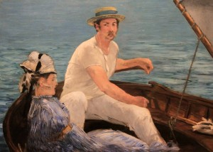 'Boating' by Édouard Manet (1874 AD).