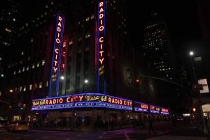 Radio City Music Hall, built in 1932 AD.