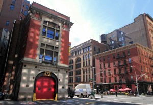 The FDNY Hook & Ladder No. 8 Firehouse, better known as the Ghostbusters headquarters.