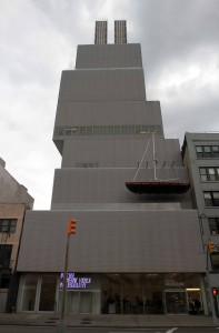 Exterior of the New Museum.