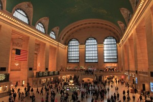 The main concourse in Grand Central Terminal.