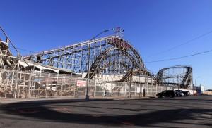Coney Island's Cyclone roller coaster.