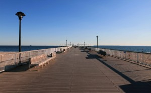 The pier at Coney Island.