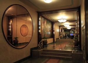 Hallway inside the Hotel Edison.
