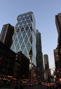 Hearst Tower on 8th Avenue.