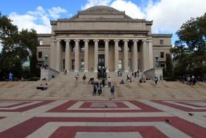 Low Memorial Library in Columbia University.