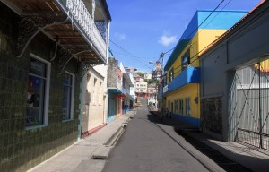 Street in St. George's.