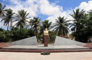 18 March Monument in Oranjestad.