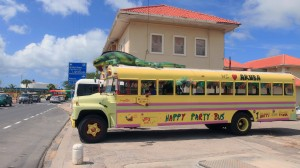 Another crazy bus in Aruba.