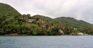 The resort in Marigot Bay, where the original (Rex Harrison) 'Doctor Dolittle' was filmed.