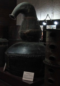 The original Mount Gay pot still from 1760 AD.